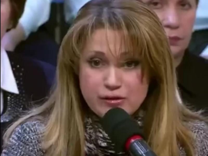 Иоланда Чен // стоп-кадр Первого канала