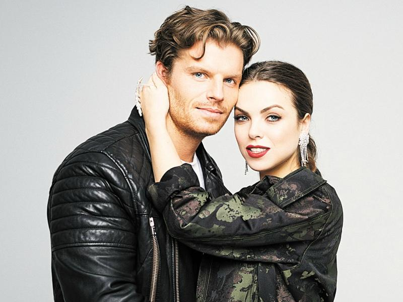 Светлана Абрамова с мужем Антоном