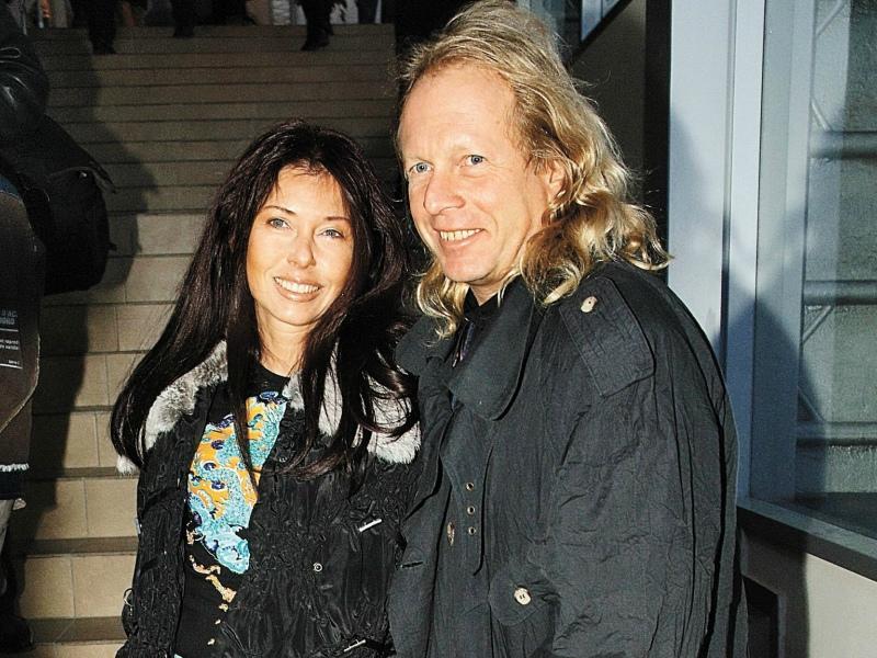 Крис Кельми с женой Людмилой // Фото: Геннадий Усоев