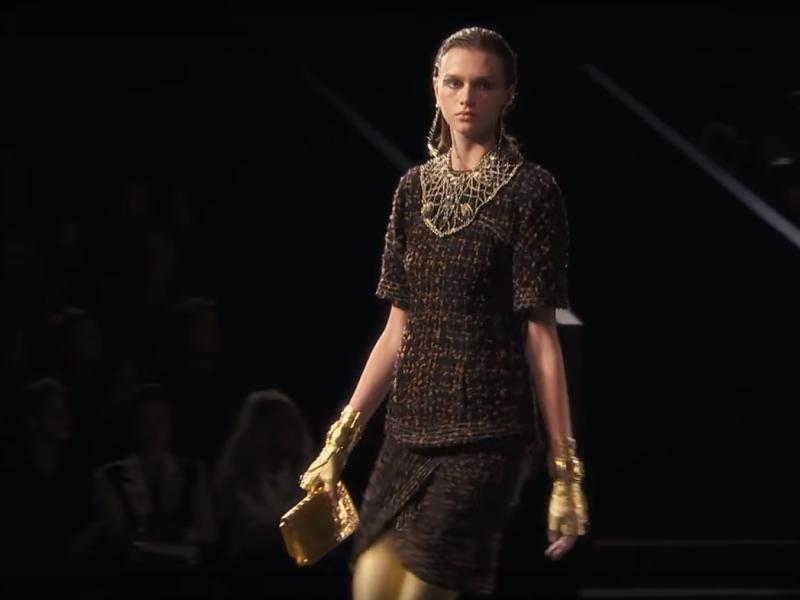 Показ Chanel // Стоп-кадр YouTube