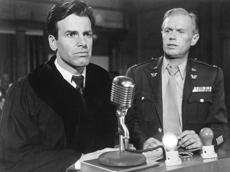 Кадр из фильма «Нюрнбергский процесс» (США, 1961 год)