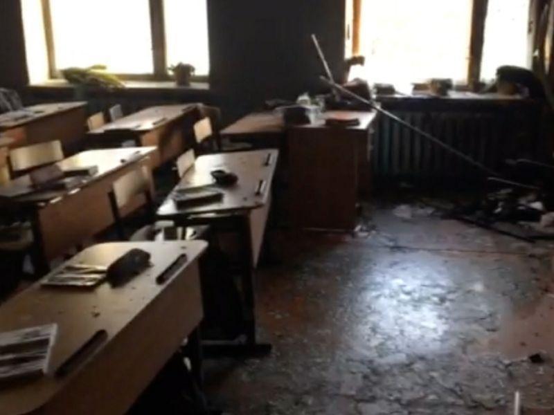 Последствия нападения на школу в Бурятии // Фото: Global Look Press