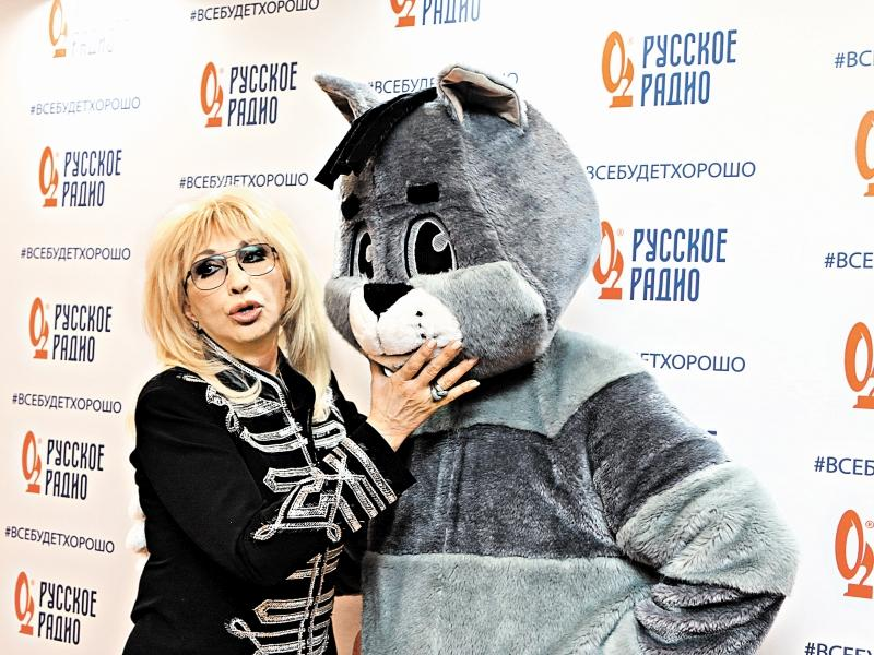 Ирина Аллегрова с Матроскиным // фото: Андрей Струнин