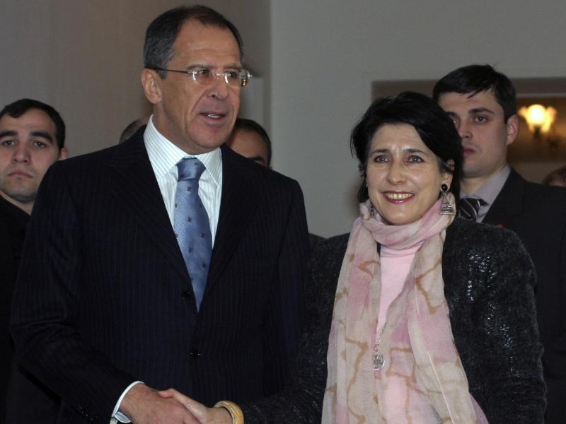 Сергей Лавров с Саломе Зурабишвили  // фото: Global Look Press