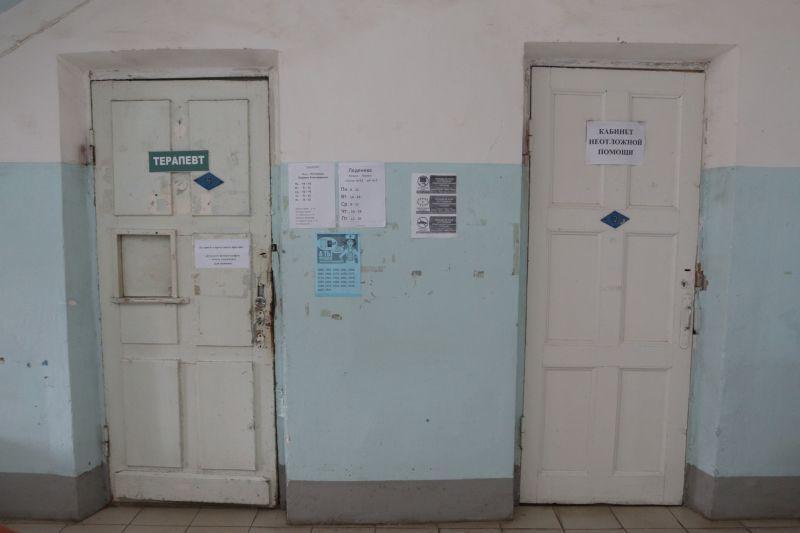 Коридор поликлиники в струнинской горбольнице // фото: Андрей Струнин / Sobesednik.ru