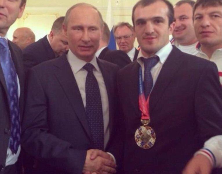 Владимир Путин и Исмаил Алиев