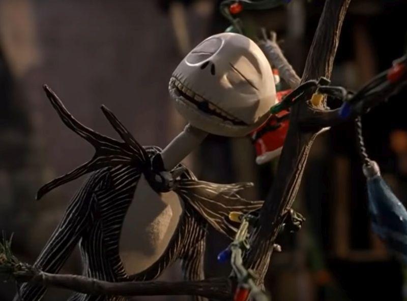 "Кадр из фильма ""Кошмар перед Рождеством"" // Фото: скриншот с YouTube"