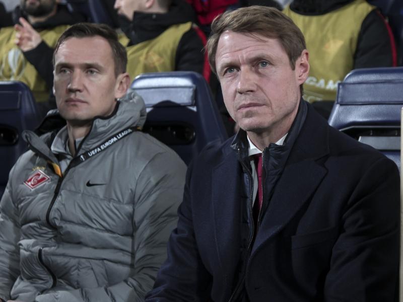 Олег Кононов (справа) // Global Look Press