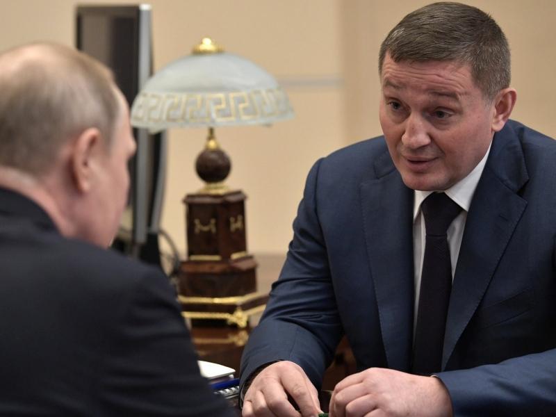 Андрей Бочаров с Владимиром Путиным // фото: Global Look Press