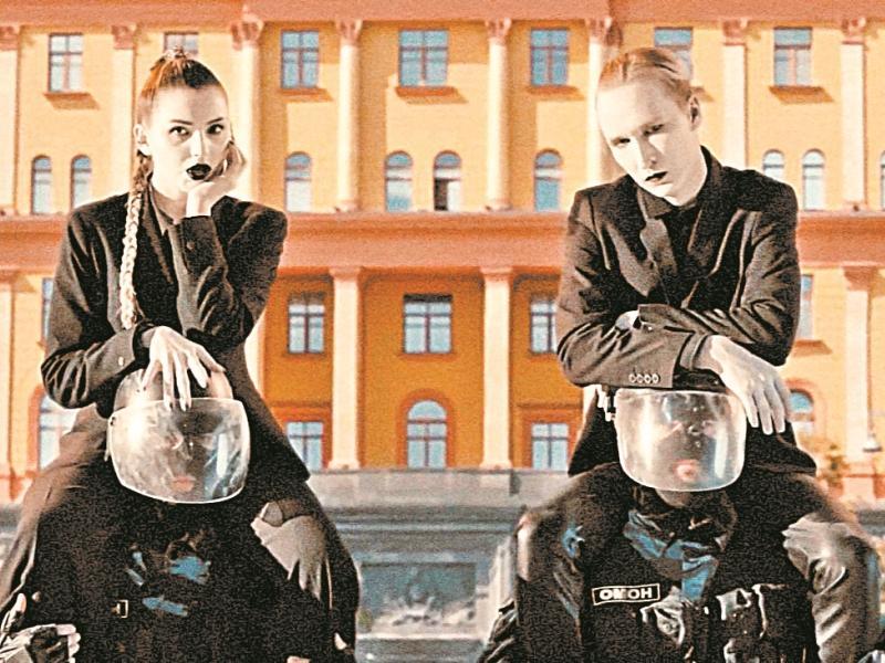 IC3PEAK // кадр из клипа на песню «Смерти больше нет»