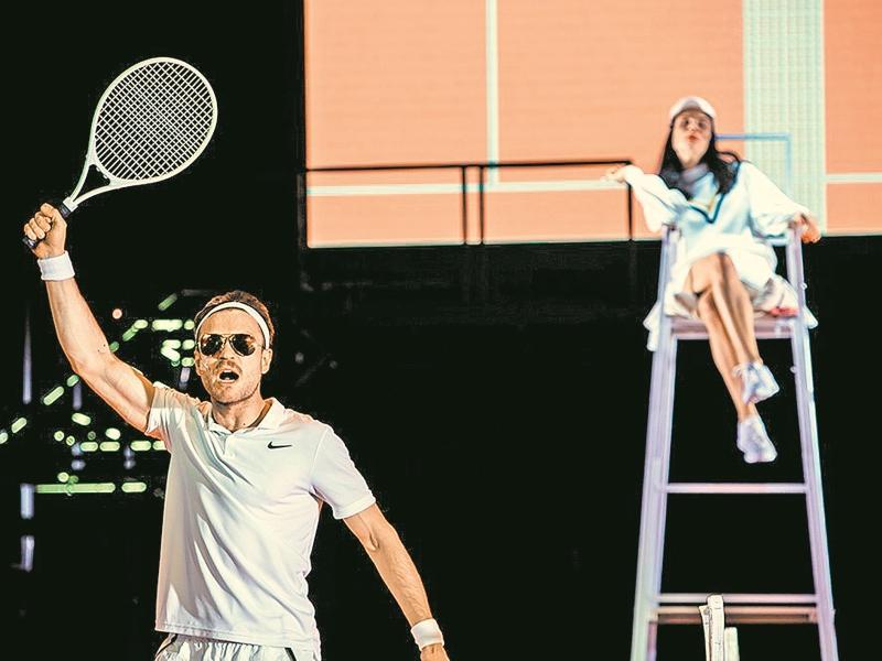 Мольеровские реплики актеры театра Серебренникова перебрасывали друг другу, как теннисный мяч // фото: пресс-служба «Гоголь-центра»