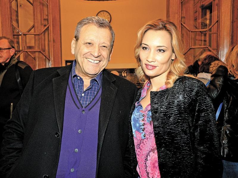 Борис Грачевский  с женой Екатериной // фото: Global Look Press