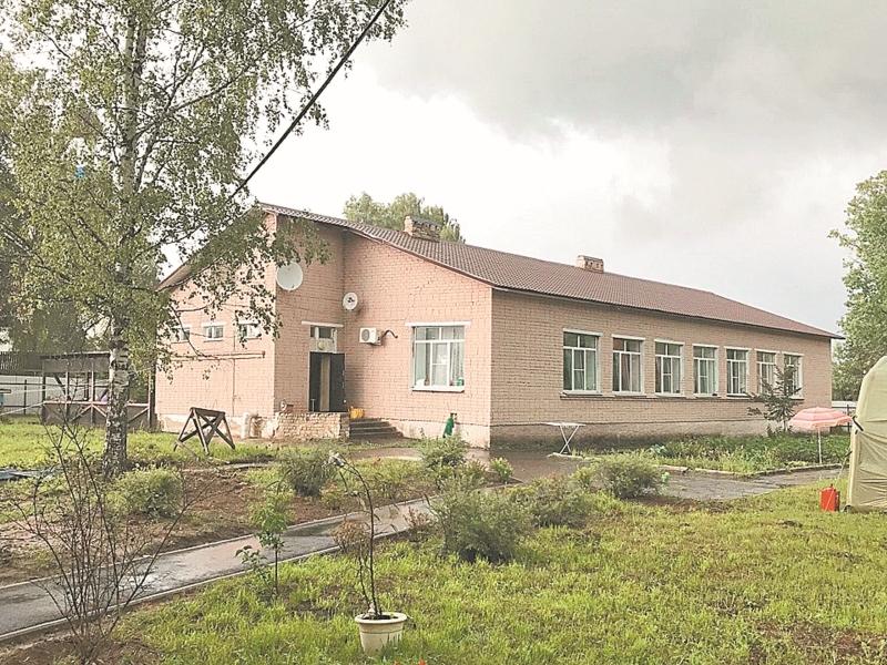 Приют разместился в здании бывшей школы