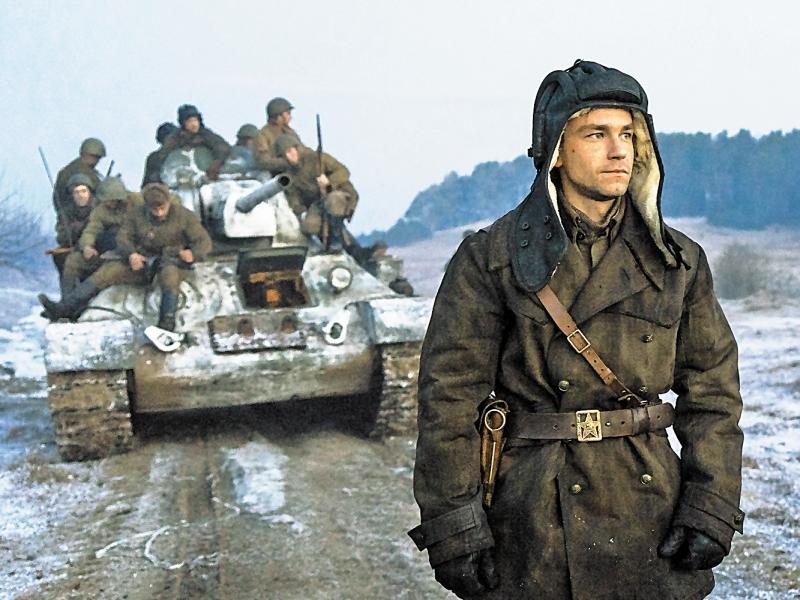 Кадр: фильм «Т-34»
