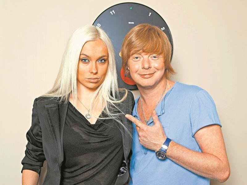 Андрей Григорьев-Апполонов с Мариной // фото: Global Look Press