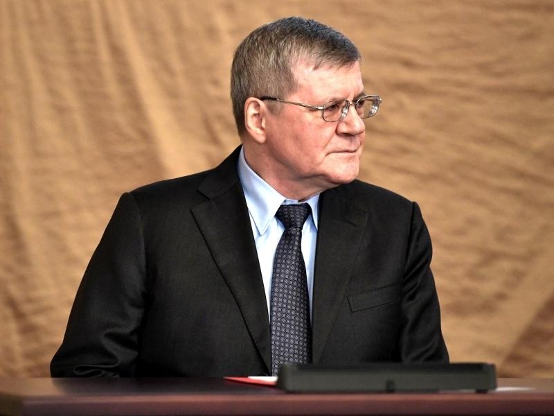 Генеральный прокурор Российской Федерации Юрий Чайка // фото: Global Look Press