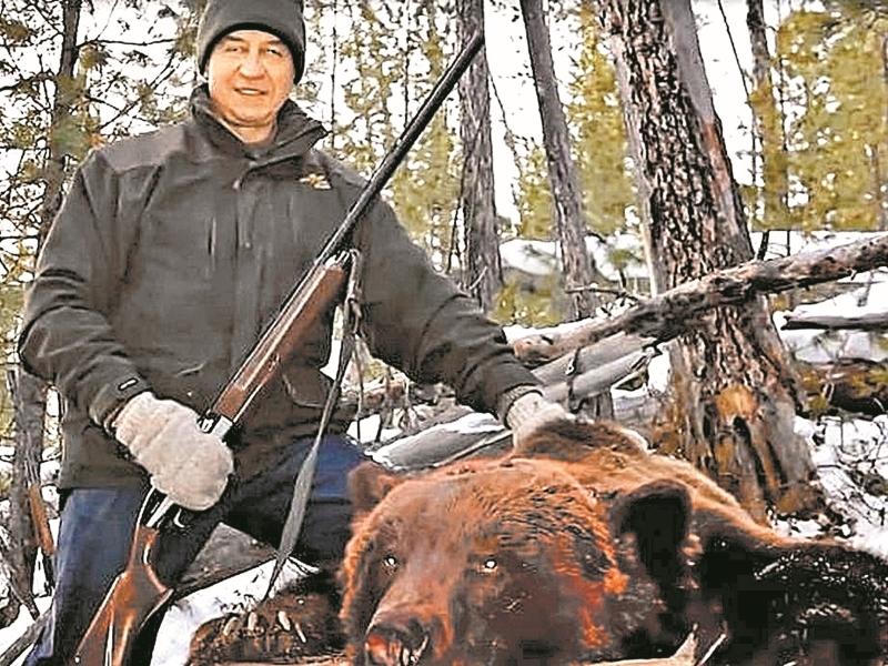 С политическими медведями Сергей Левченко не справился