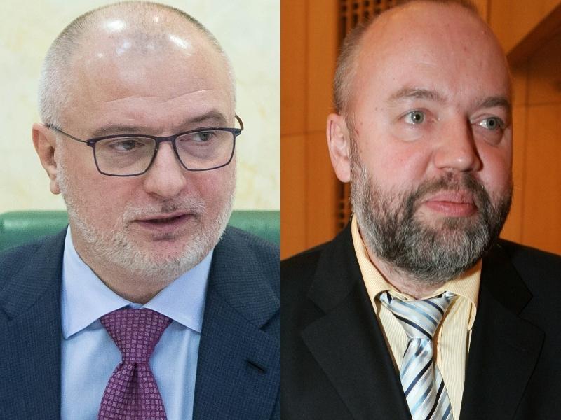 Авторы – сенатор Клишас и депутат Крашенинников // фото: Global Look Press