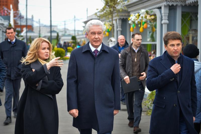 Наталья Сергунина - заместитель мэра Москвы