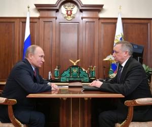 Охранник Путина поправит губернатору (справа) имидж // фото: Global Look Press
