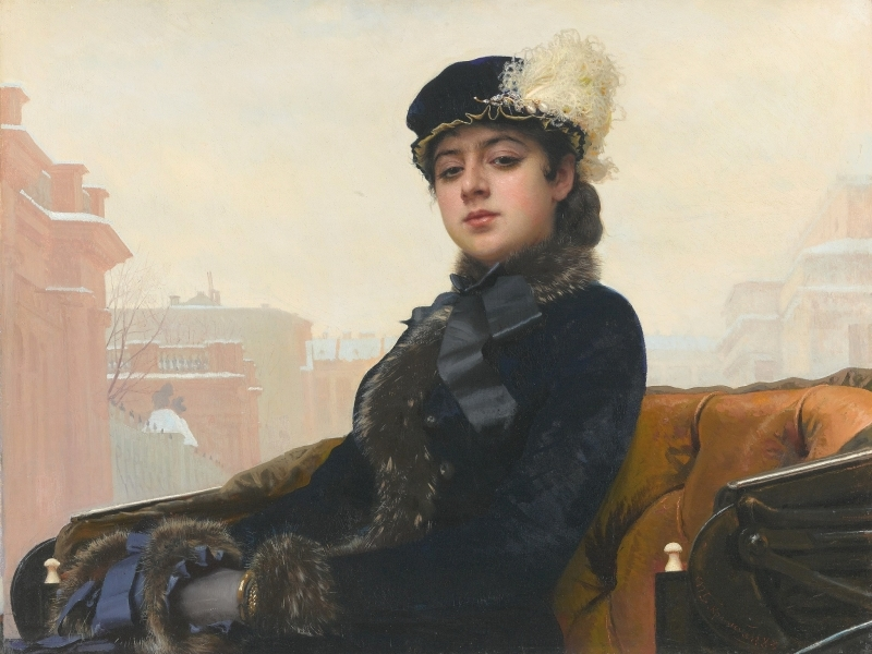 Крамскому было скучно от «правильных» портретов – и он написал загадочную «Неизвестную»