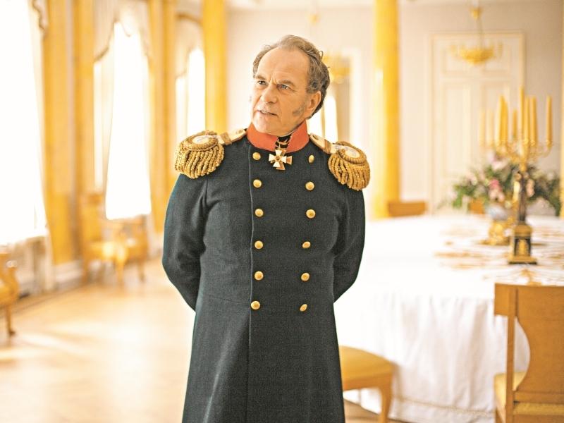 Алексей Гуськов в роли князя Алексея Щербатова