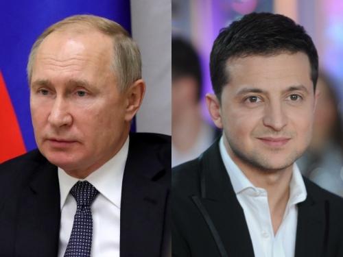 Владимир Путин и Владимир Зеленский // фото: Global Look Press