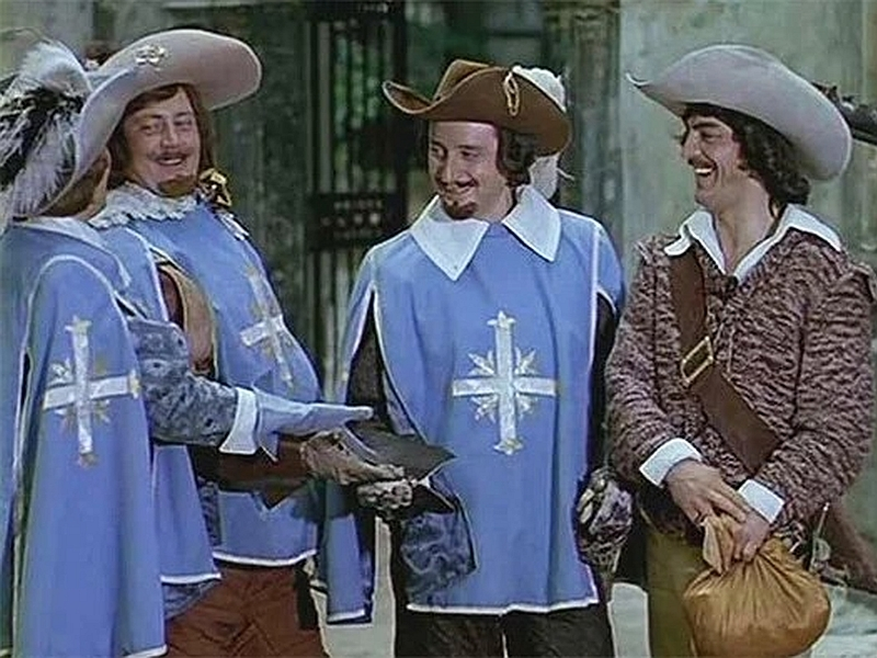 Кадр: фильм «Д'Артаньян и три мушкетера»