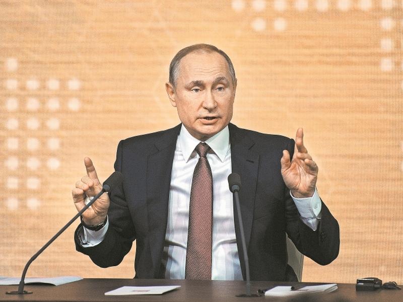 Владимир Путин // фото в статье: Андрей Струнин