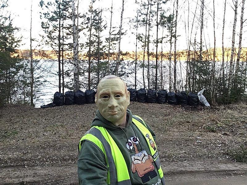 Костромской мусорщик // фото в статье: соцсети