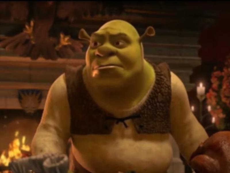 Кадр из фильма  «Шрек» // стоп-кадр Youtube