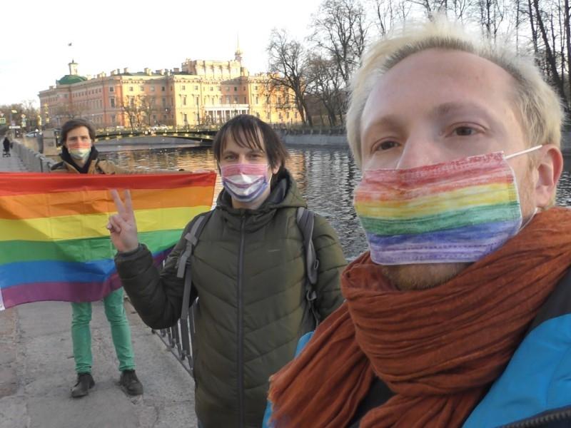 На переднем плане Алексей Назаров и Алексей Сергеев // Фото: соцсети
