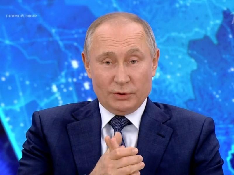Владимир Путин // Скриншот с трансляции 1tv.ru