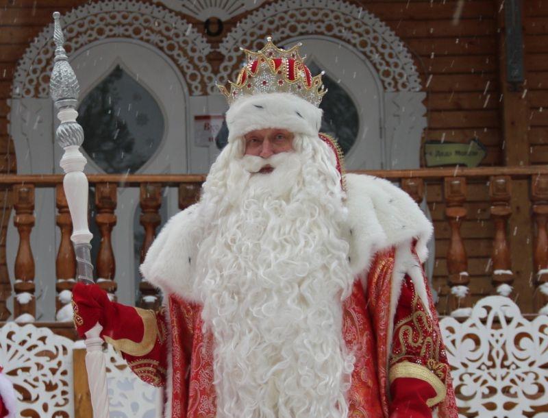 Главный Дед Мороз России // фото: Пресс-служба российского Деда Мороза