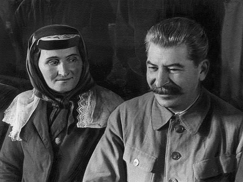 Последняя встреча Сталина с матерью // фото в статье: архив редакции
