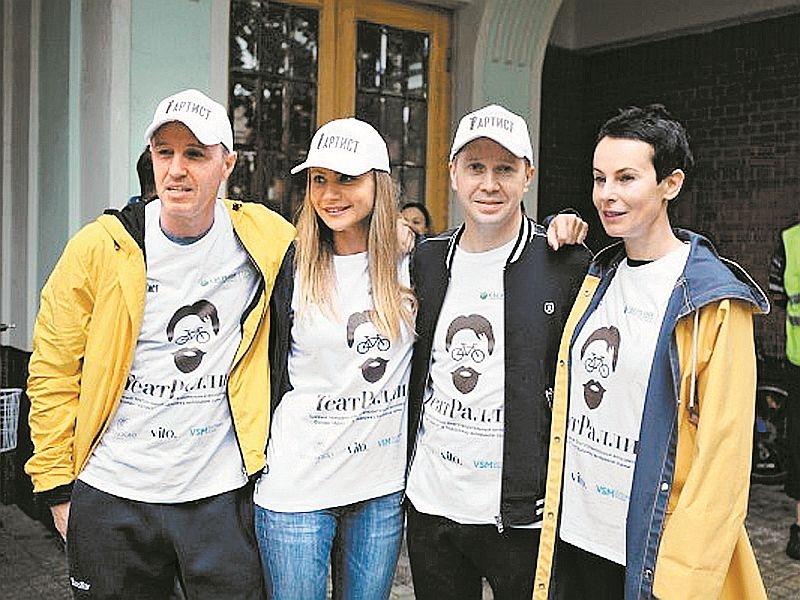Активисты фонда на акции «ТеатРалли» // фото: фонд «Артист»