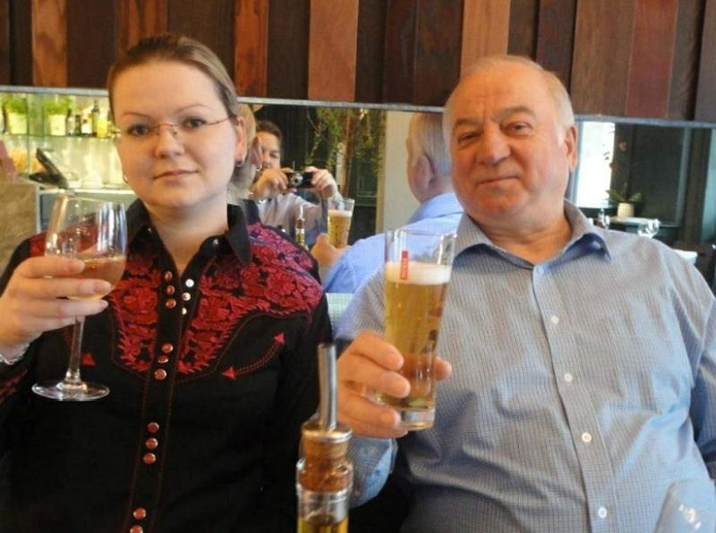 Сергей и Юлия Скрипали до отравления в Солсбери // Фото: Global Look Press