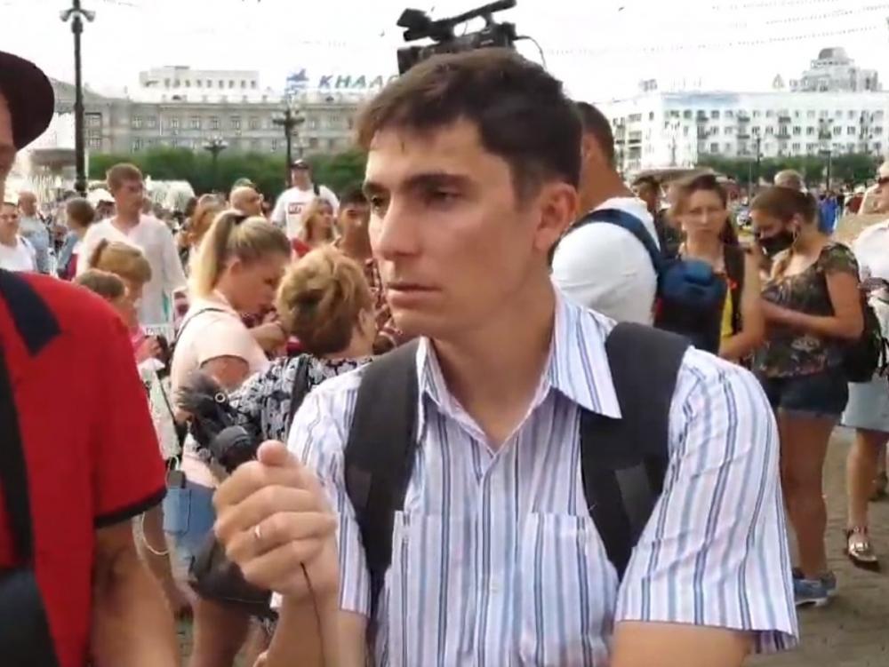 Дмитрий Низовцев // Фото: Штаб Навального в Хабаровске