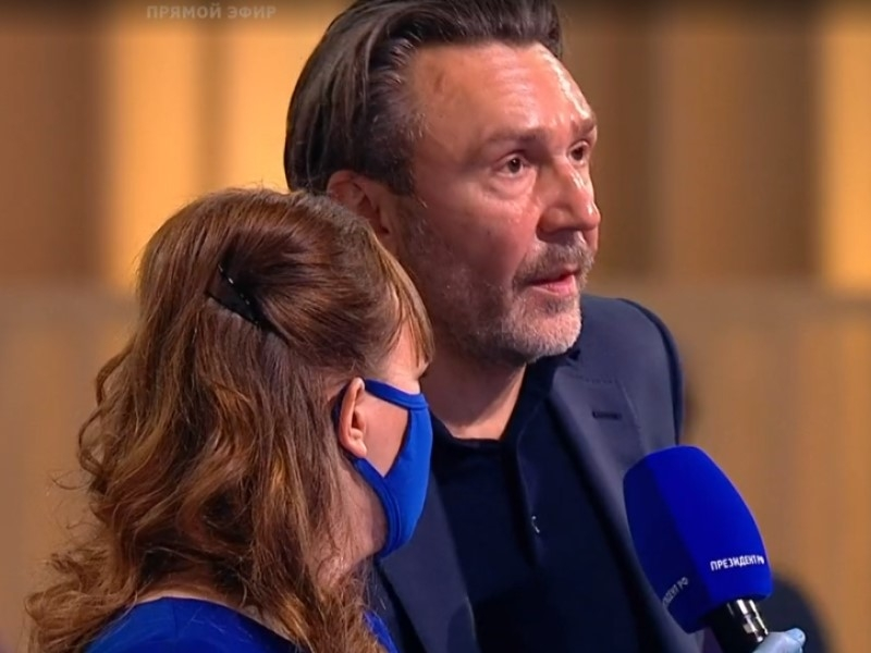 Сергей Шнуров // Скриншот с трансляции 1tv.ru