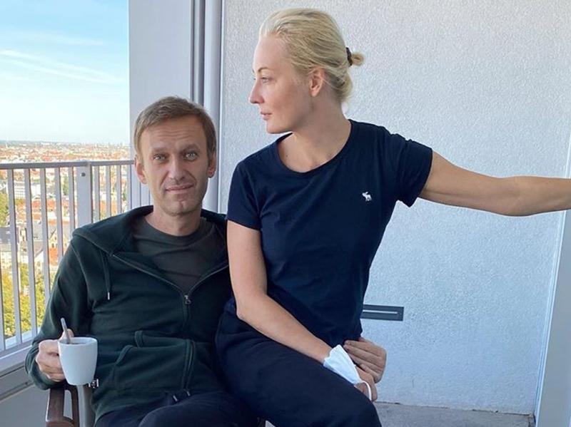 Юлия помогла мужу заново встать на ноги // фото в статье: Instagram политика