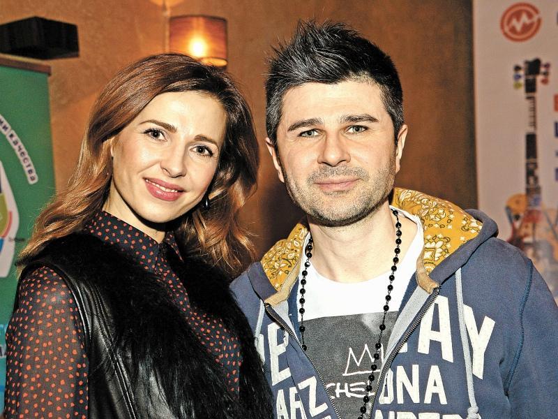 Георгий Барыкин с женой Еленой