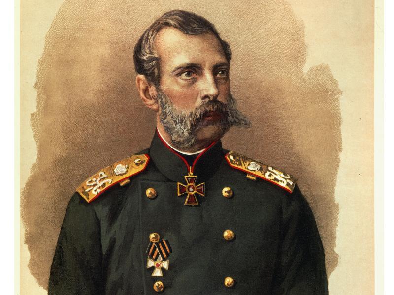 """Александр II – """"дозволенный цензурой"""" официальный портрет // Global Look Press"""