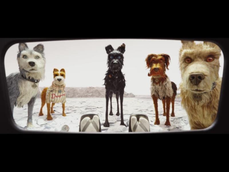 "стоп-кадр из трейлера ""Собачьего острова"" // Youtube"