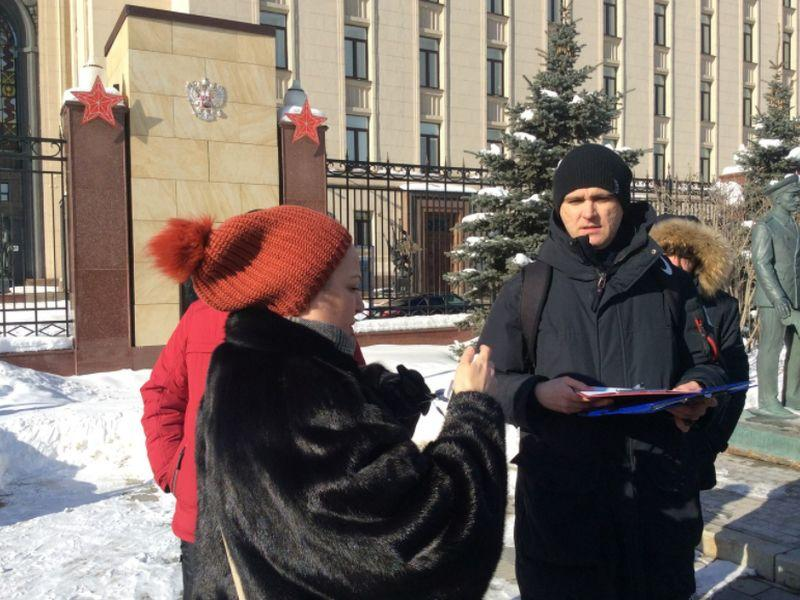 Акция «Бездомного полка» // фото: Ганненко Валерий