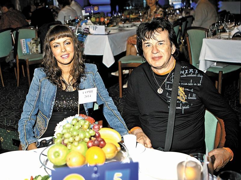 Александр Барыкин с женой Нелли // Фото: Global Look Press