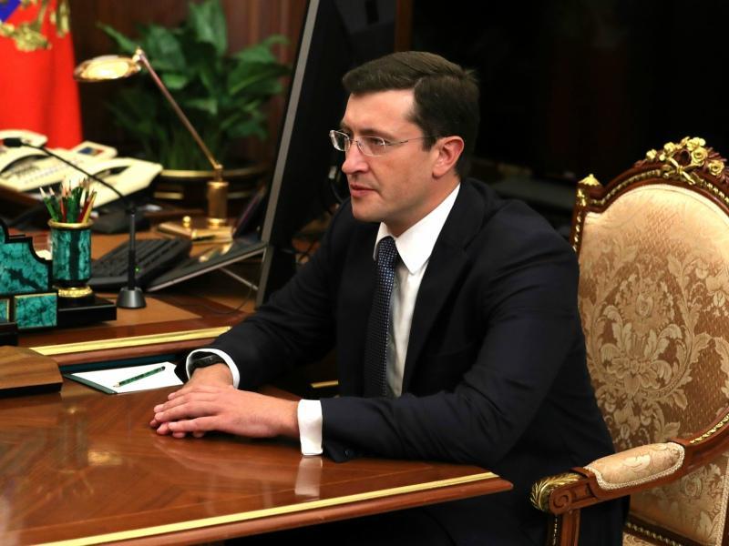 Исполняющий обязанности главы Нижегородской области Глеб Никитин // Фото: Global Look Press