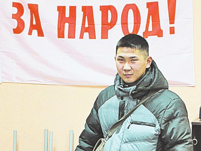 Геонка пострадал за народ и Явлинского // Фото: из личного архива