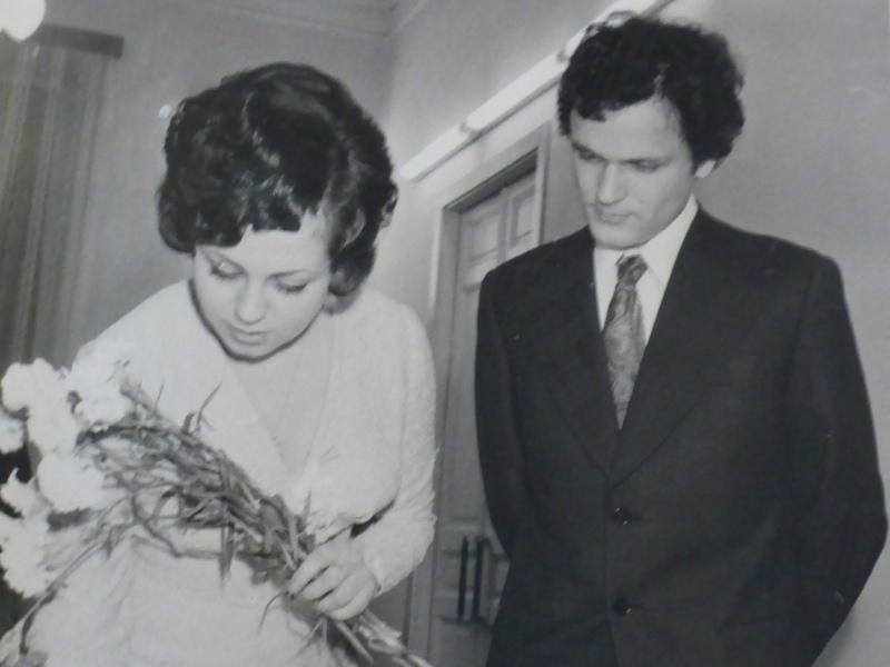 Свадьба с первой женой Верой