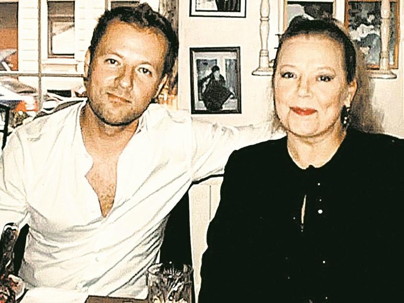 Людмила Сенчина с сыном Славой