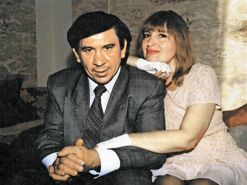 С женой – журналисткой РИА «Новости» Натальей Ремизовой